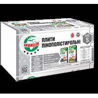 Ансерглоб Пенопласт М-25 50мм 1*1м EPS-S