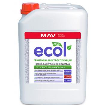 MAV ECOL Грунтовка быстросохнущая (5л)