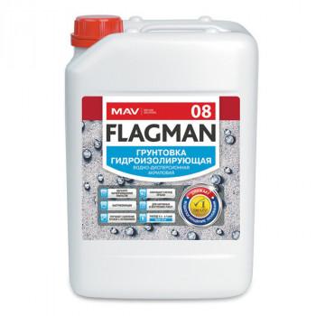 MAV FLAGMAN 08 грунтовка гидроизолирующая бесцветная 11л