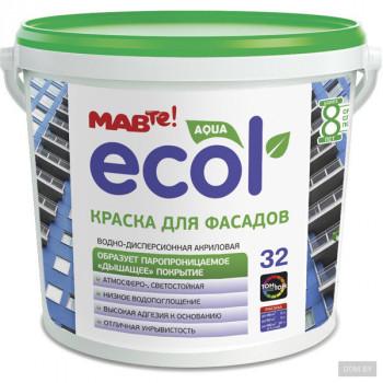 MAV ECOL 32 Краска для фасадов 11л (14.0 кг)