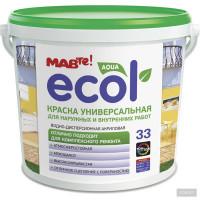 Краска Ecol (MAV) 33 для наружных и внутренних работ (11л)