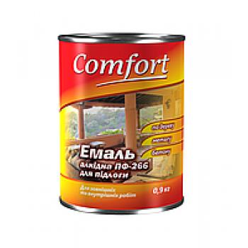 Комфорт эмаль ПФ-266 красно-коричневая 2,8 кг