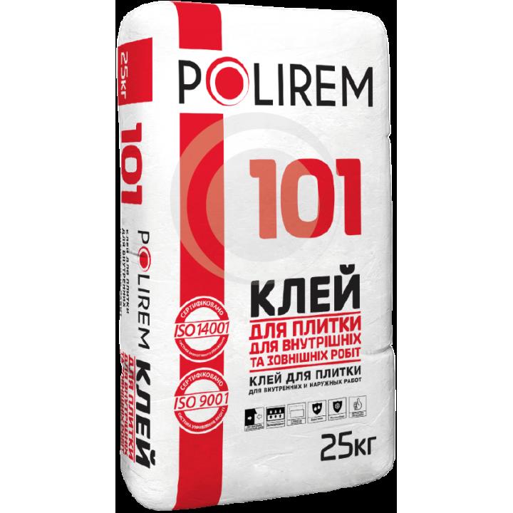 POLIREM 101 Клей для плитки для внутрішніх і зовнішніх робіт, 25 кг