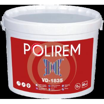 POLIREM 1835 Краска акриловая интерьерная улучшенная, 10 л (15 кг)