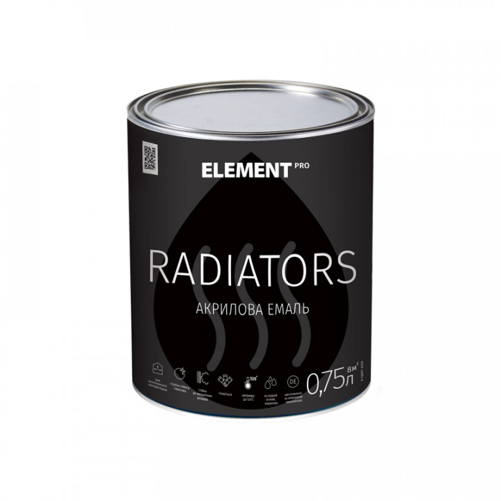 Element PRO RADIATORS Емаль для радіаторів акрилова (0,75 л)