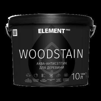 Element PRO WOODSTAIN Аква-антисептик по дереву бесцветный (0,75л)