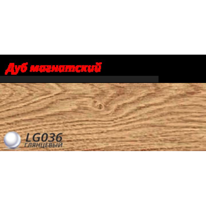 Пластиковий плінтус LINE PLAST Дуб магнатський L036 (2.5 м)