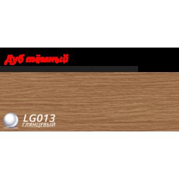 Пластиковый плинтус LINE PLAST Дуб темный L013 (2.5 м)
