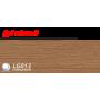 Пластиковий плінтус LINE PLAST Дуб темний L013 (2.5 м)