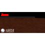 Пластиковий плінтус LINE PLAST Венге L014 (2.5 м)