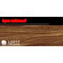 Пластиковый плинтус LINE PLAST Орех темный L017 (2.5 м)