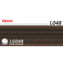 Пластиковый плинтус LINE PLAST Ироко L048 (2.5 м)