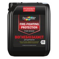"""Огнебиозащита  для древесины """"Kompozit"""" (10л/красная)"""