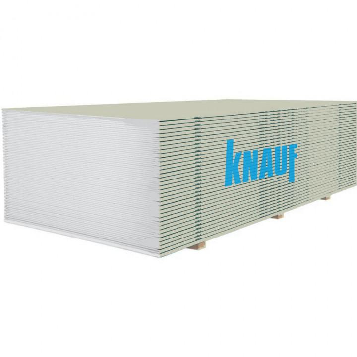 Гипсокартон стеновой Knauf (12,5мм/2м)