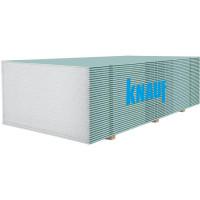 Гипсокартон стеновой влагостойкий Knauf (12,5мм/2м)