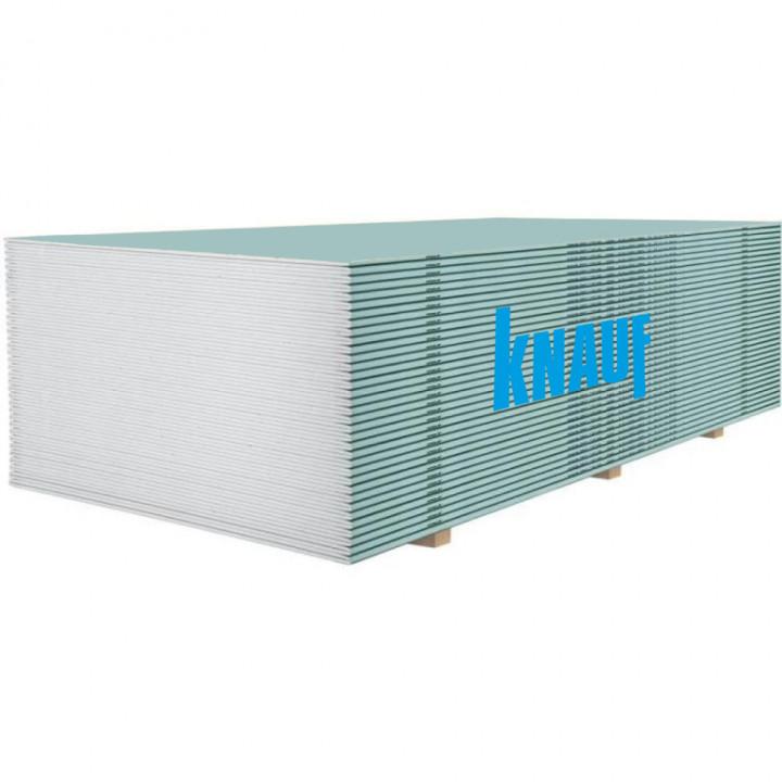 Гіпсокартон стельовий вологостійкий Knauf (9,5мм/2,5м)
