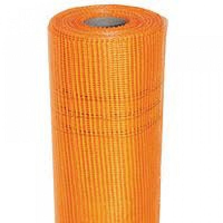 Сетка штукатурная BUILDER OPTIMA оранжевая (50м.кв 160гр/м2)