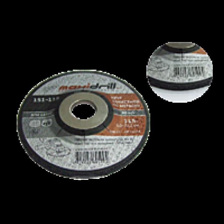 Круг шлифовальный зачистной Maxidrill (125х6.0х22.2)