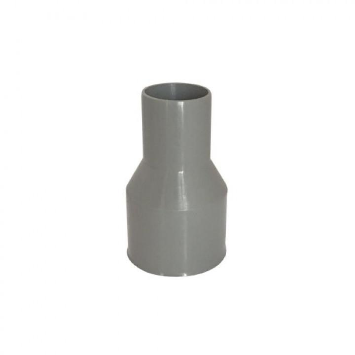 Перехід каналізаційний 50 * 72 (тапер 50) без гумки